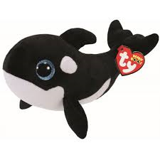 PELUCHE TY WHALE  15 CM