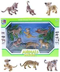 SET 6  ANIMALES SELVA