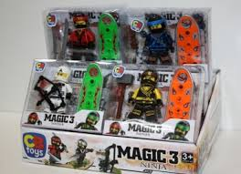FIGURA NINJA MAGIC ( 12 u )