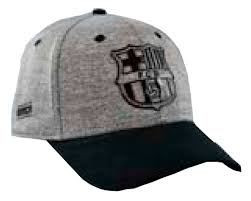 GORRA  FCB GREY  ( L / XL )